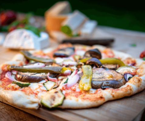 Pyszna pizza z Klubu Sosnowego